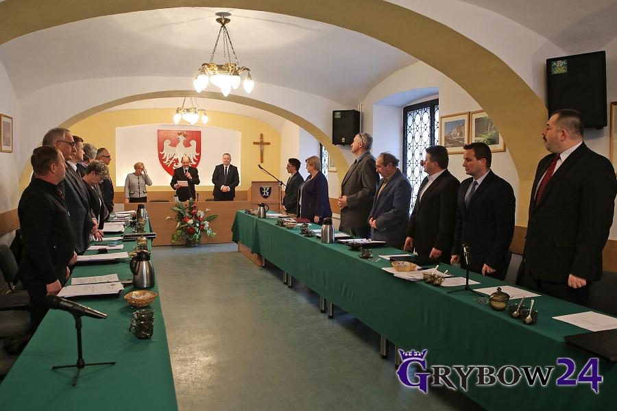 XXXII Sesja Rady Miejskiej wGrybowie