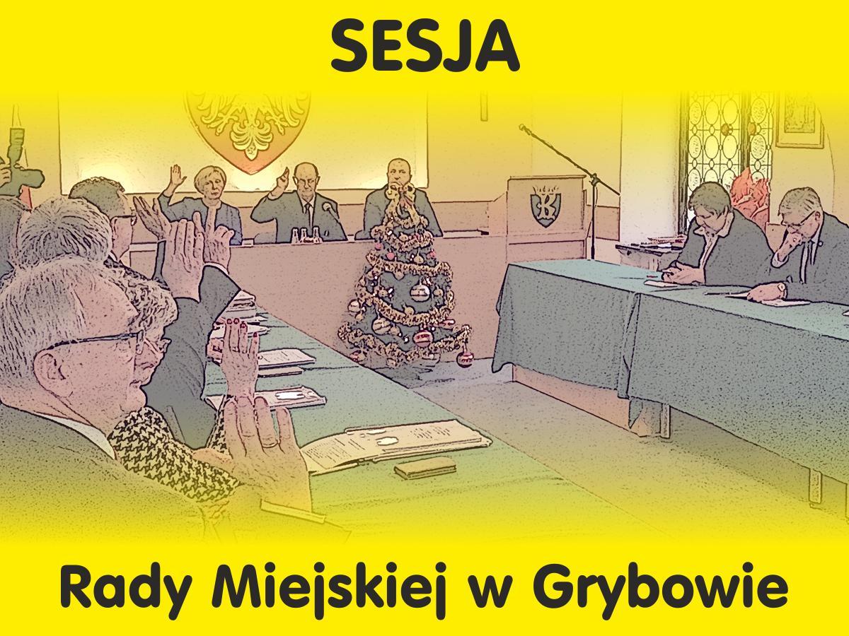 Sesja Rady Miejskiej w Grybowie