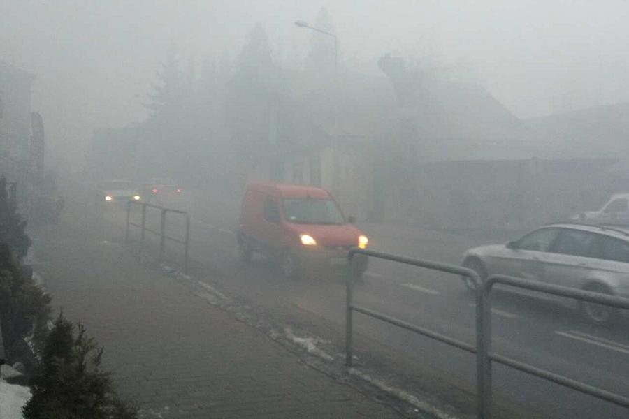 Smog w Grybowie