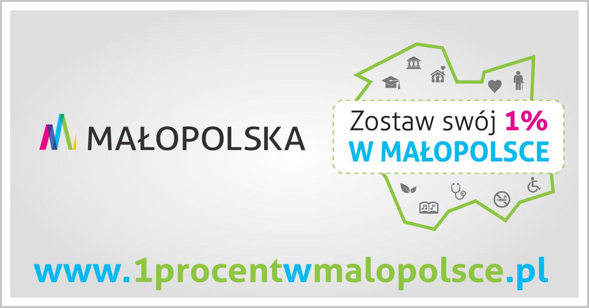 Zostaw 1% wMałopolsce