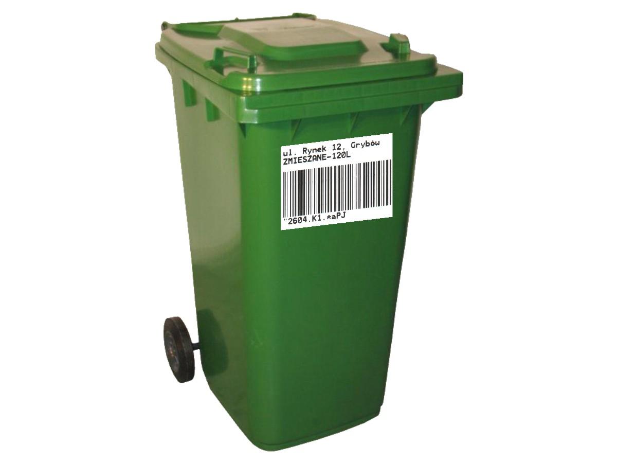 Gospodarka odpadami komunalnymi - pojemnik