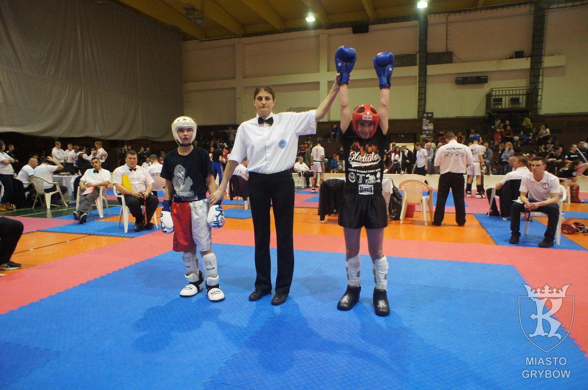 2017-02-25: Gladiatorzy podczas zawodów Slovakia Open wBratysławie