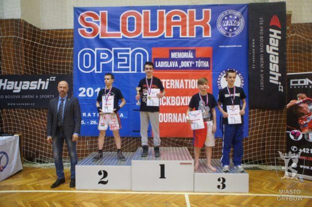 2017-02-25: Gladiatorzy podczas zawodów Slovakia Open w Bratysławie