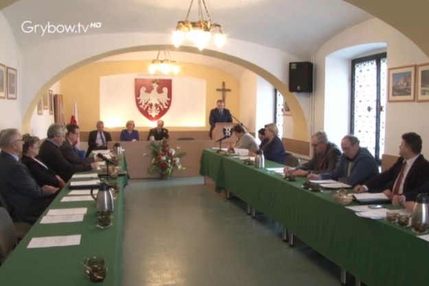 2017-03-23: XXXIII zwyczajna sesja Rady Miejskiej w Grybowie