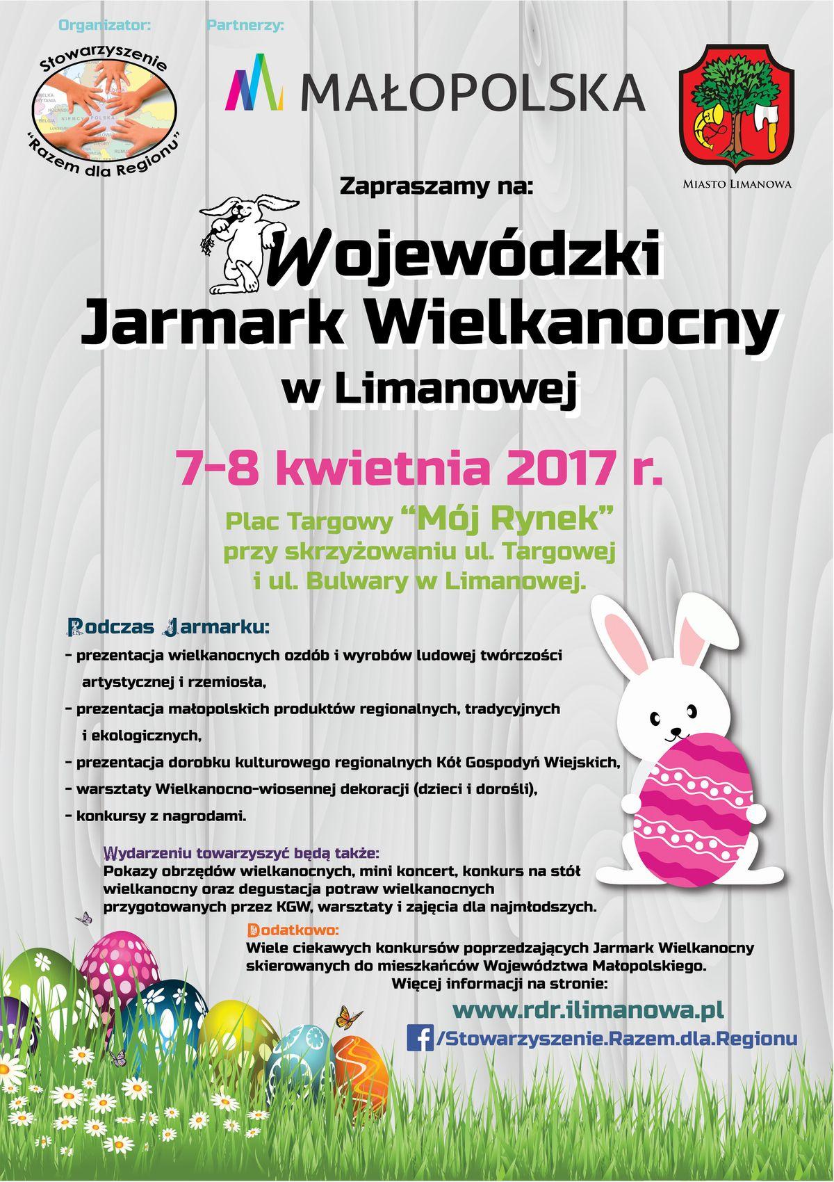 Wojewódzki Jarmark Wielkanocy wLimanowej