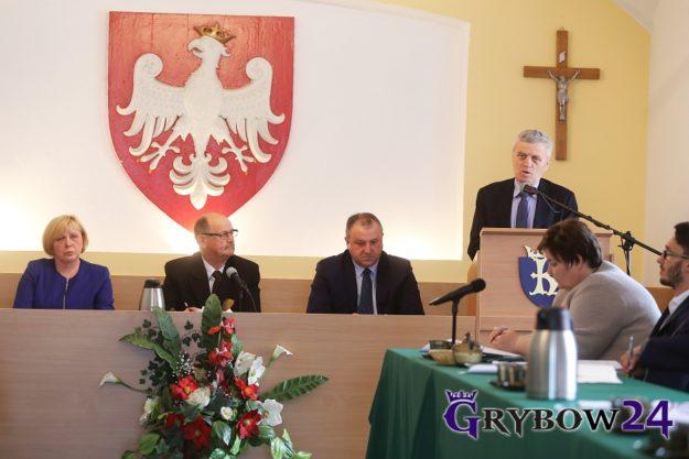 2017-03-23: XXXIII Sesja Rady Miejskiej w Grybowie