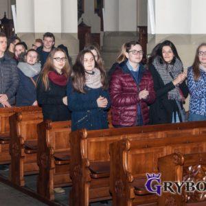 2017-03-04: Wieczór Uwielbienia w Bazylice Mniejszej w Grybowie