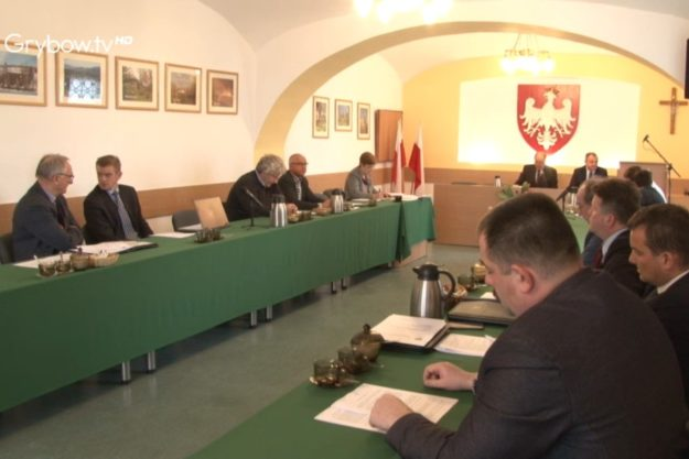 XXXV zwyczajna sesja Rady Miejskiej w Grybowie