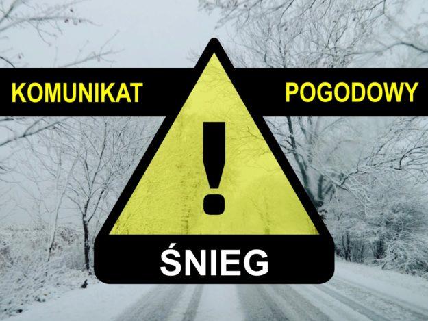 Komunikat pogodowy: Śnieg