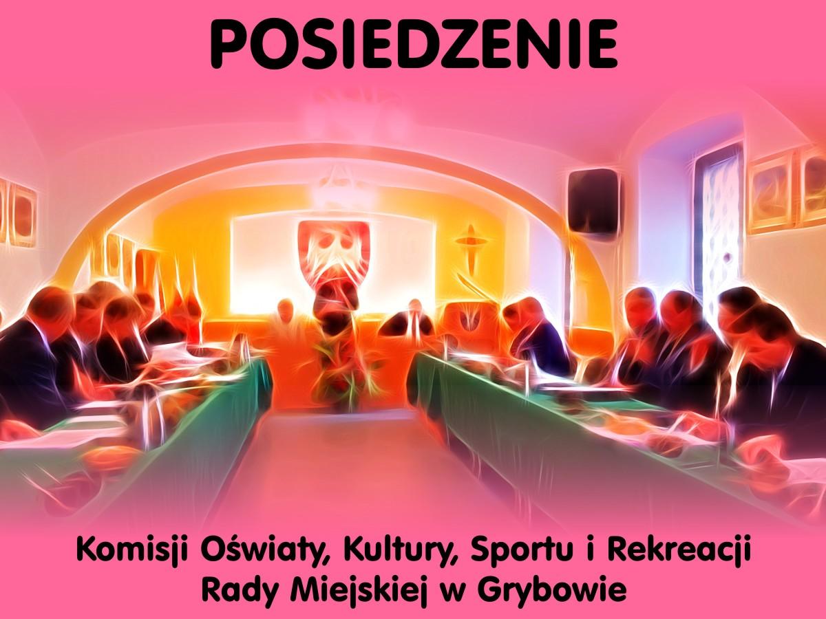 Posiedzenie Komisji Oświaty, Kultury, Sportu i Rekreacji