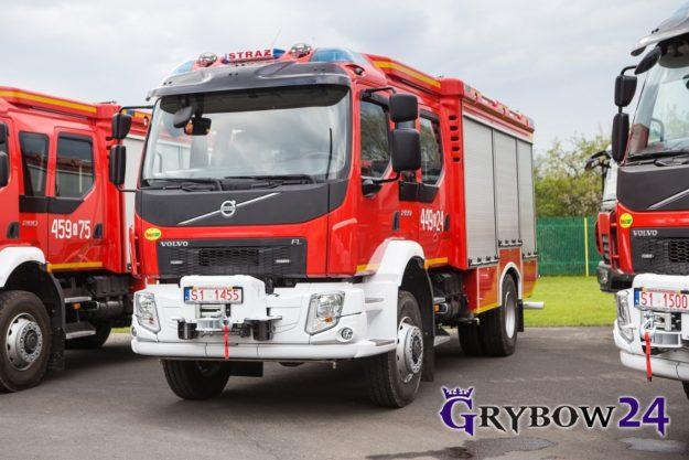 2017-05-19: Nowy wóz bojowy dla Miasta Grybowa