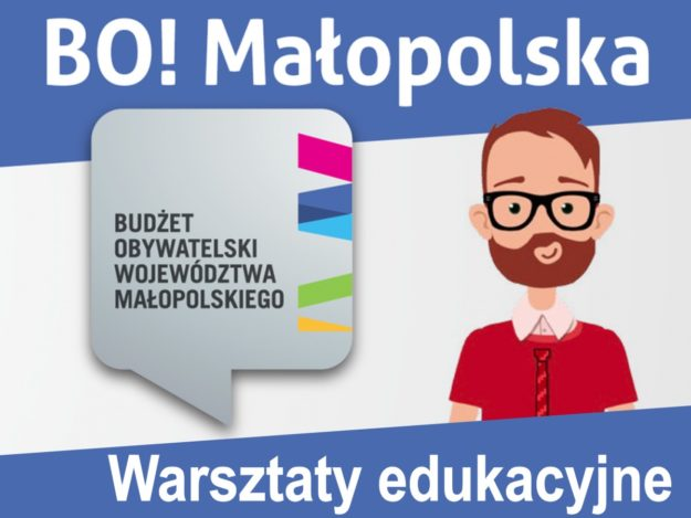 Budżet Obywatelski Małopolski - warsztaty edukacyjne w Nowym Sączu
