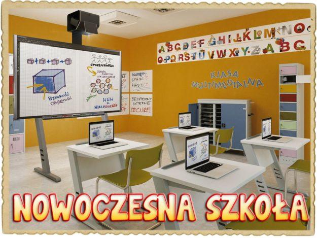 """Projekt """"Nowoczesna szkoła"""" w Jedynce"""