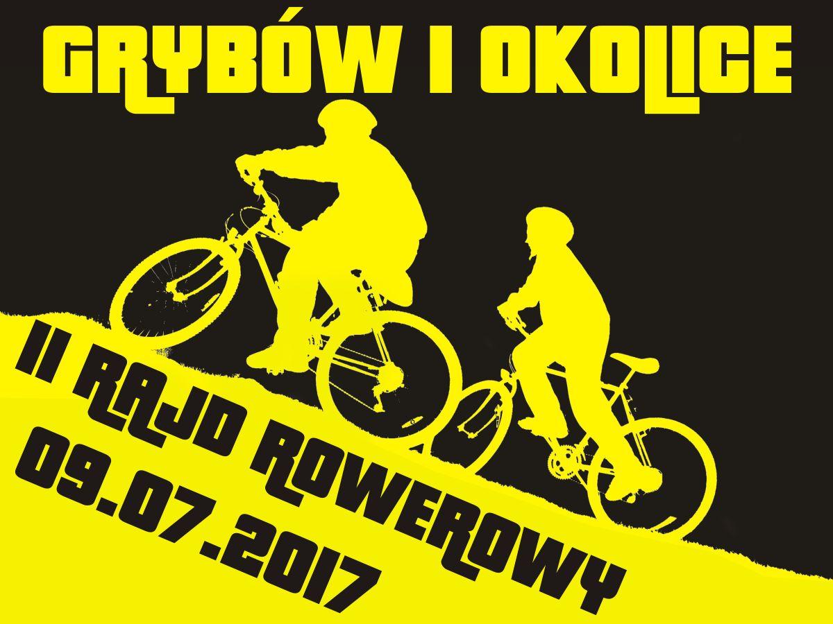 """II Rajd Rowerowy """"Grybów i okolice"""""""