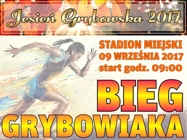 Jesień Grybowska 2017: Bieg Grybowiaka