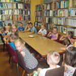 2017: Zajęcia wakacyjne w Miejskiej Bibliotece Publicznej w Grybowie