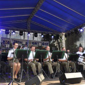 2017-09-10: Jesień Grybowska 2017 - Koncert Orkiestry Reprezentacyjnej Straży Granicznej z Nowego Sącza