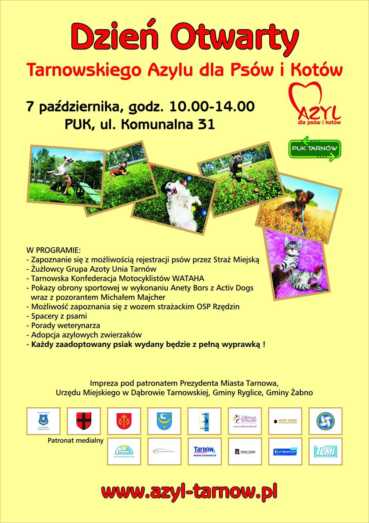 Dzień Otwarty Tarnowskiego Azylu dla Psów i Kotów