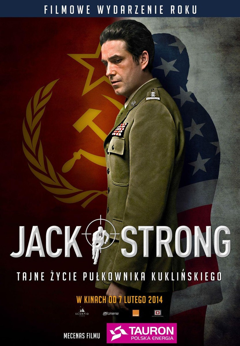 "Plakat filmu ""Jack Strong"""