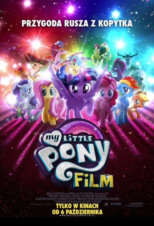 Objazdowe Kino Visa: My Little Pony (plakat)