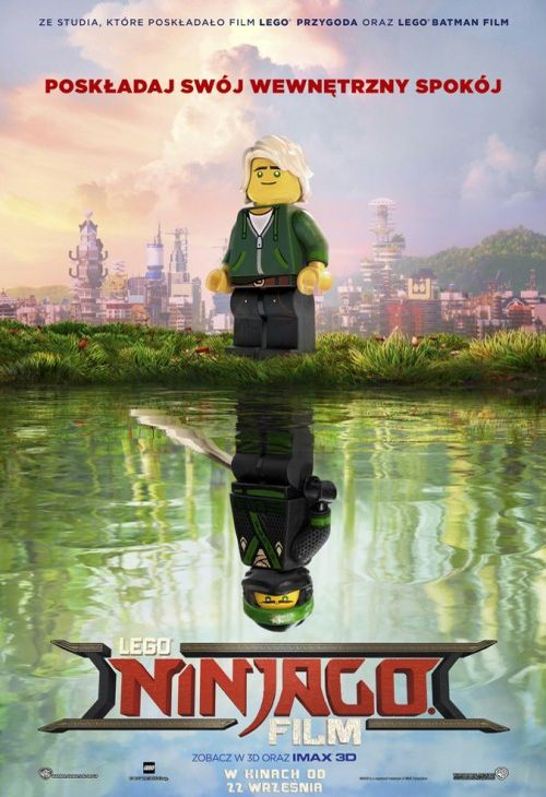 Objazdowe Kino Visa: Lego Ninjago (plakat)
