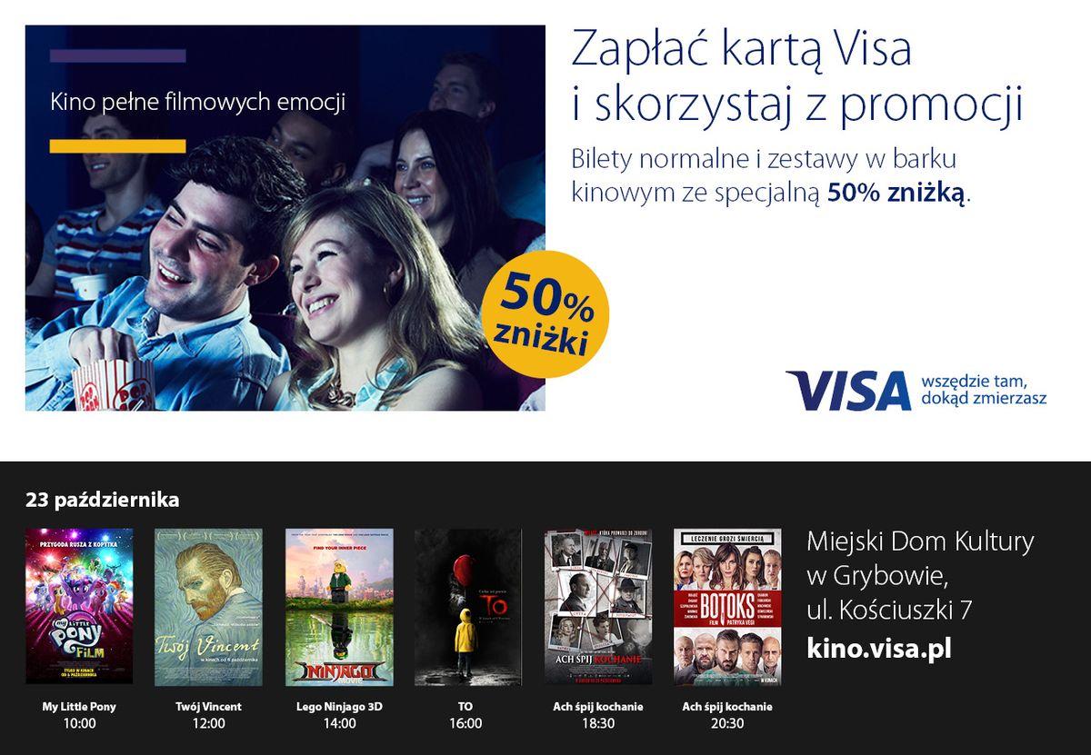 Objazdowe Kino Visa w Grybowie