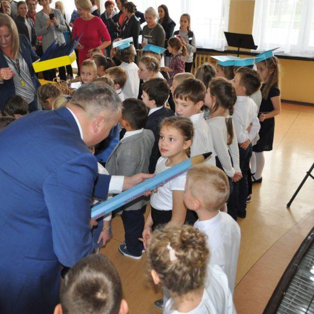 2017-10-25 Ślubowanie klas pierwszych w Szkole Podstawowej Nr 1