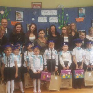 2017-10-13: Ślubowanie klas pierwszych w Szkole Podstawowej Nr 2