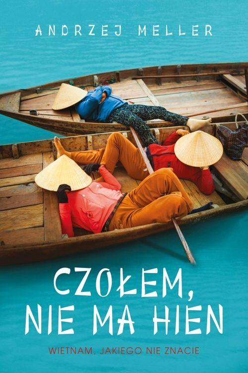"""Okładka książki """"Czołem, nie ma hien"""" Andrzej Meller"""