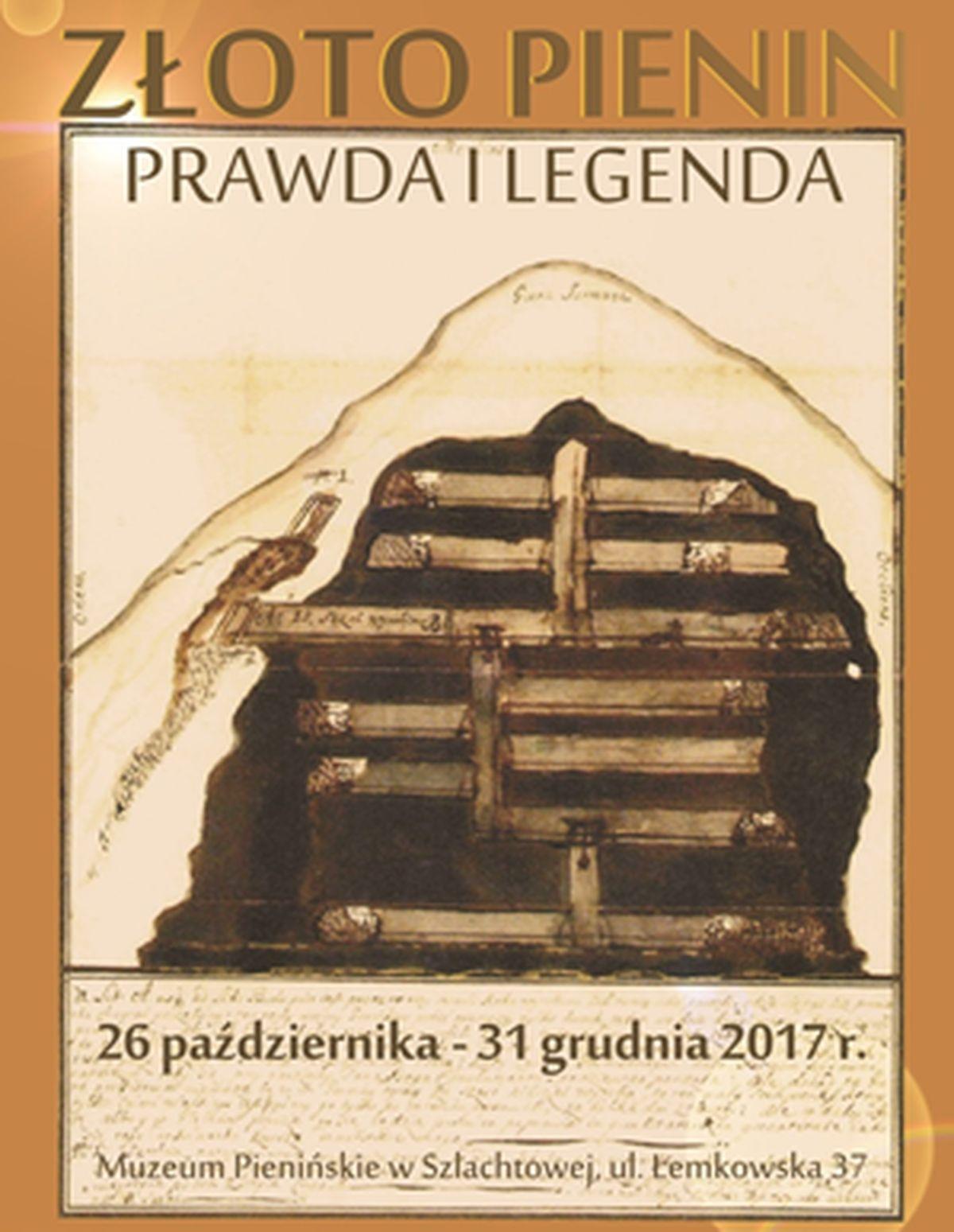 """Wystawa """"Złoto Pienin. Prawda i Legenda"""""""
