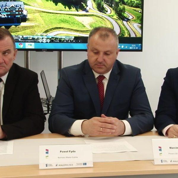 2017-11-13: W Grybowie i gminie Grybów powstaną nowoczesne centra sportowo-rekreacyjne