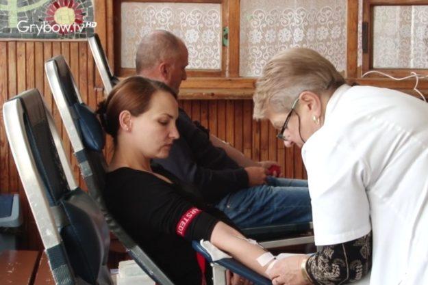 2017-10-22: W Grybowie oddali ponad 30 litrów krwi