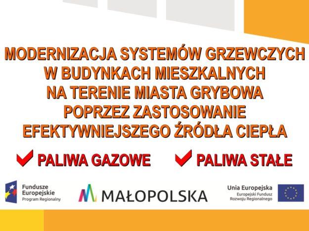 """Projekty """"Modernizacja systemów grzewczych..."""""""
