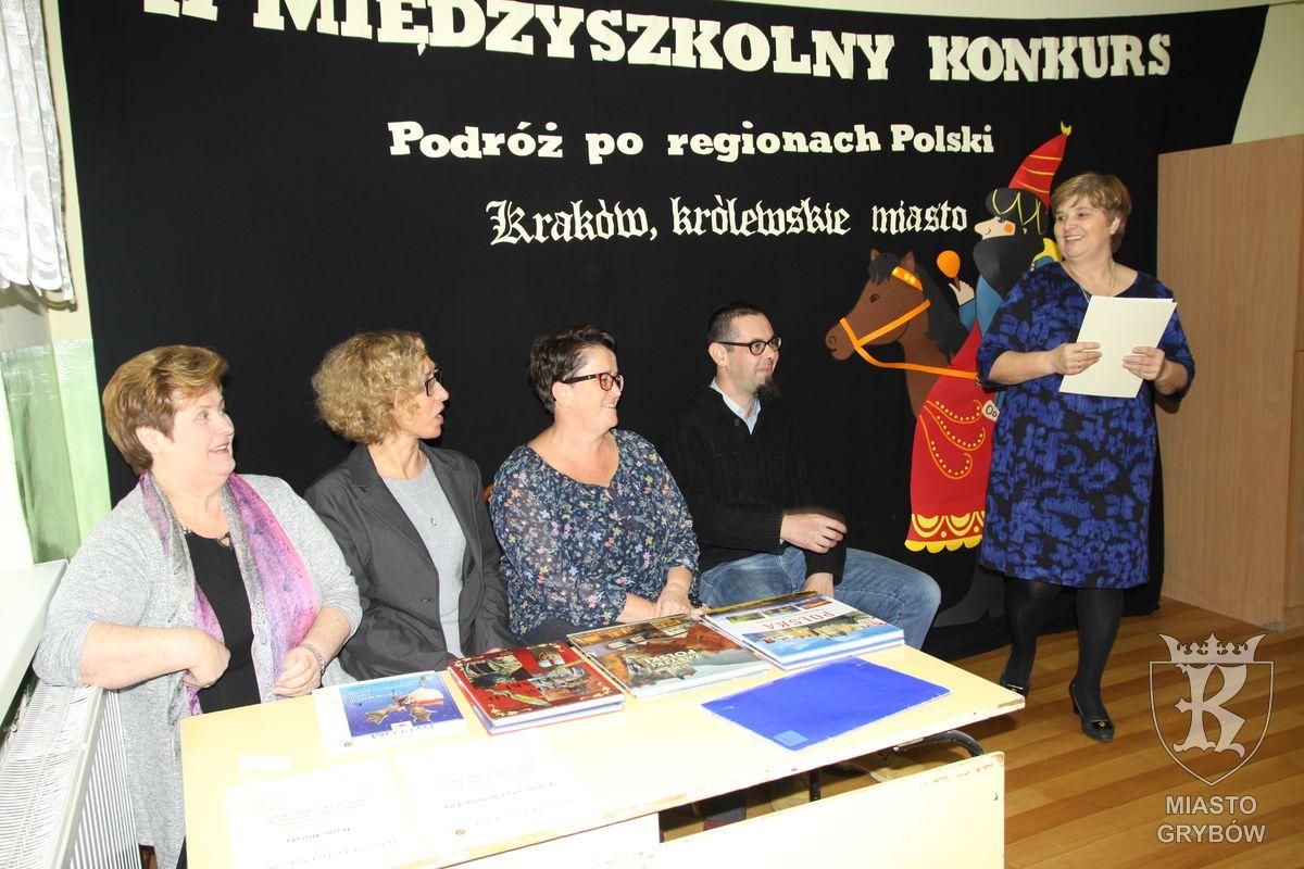 """2017-11-17: II Międzyszkolny Konkurs """"Podróż po regionach Polski"""""""