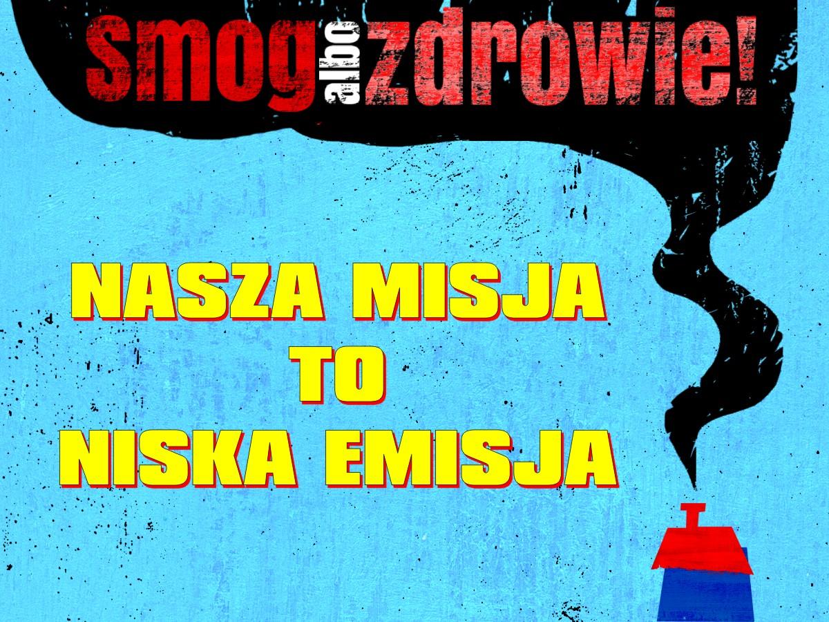 """Konkurs plastyczny """"NASZA MISJA TO NISKA EMISJA"""""""