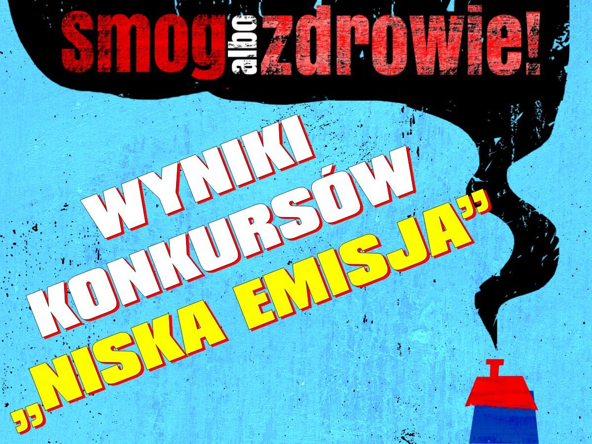 """Konkurs plastyczny """"NISKA EMISJA..."""""""