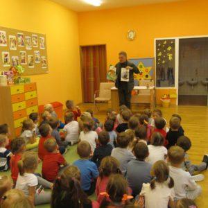 2017-11-21: Zajęcia edukacyjne z leśnikiem