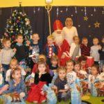 2017-12-01: Odwiedziny Mikołaja w przedszkolu