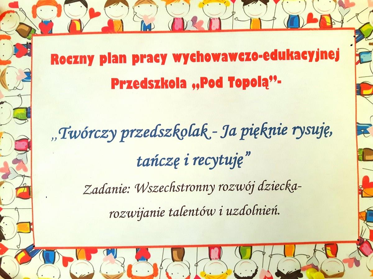 Nowy program wychowawczo-edukacyjny
