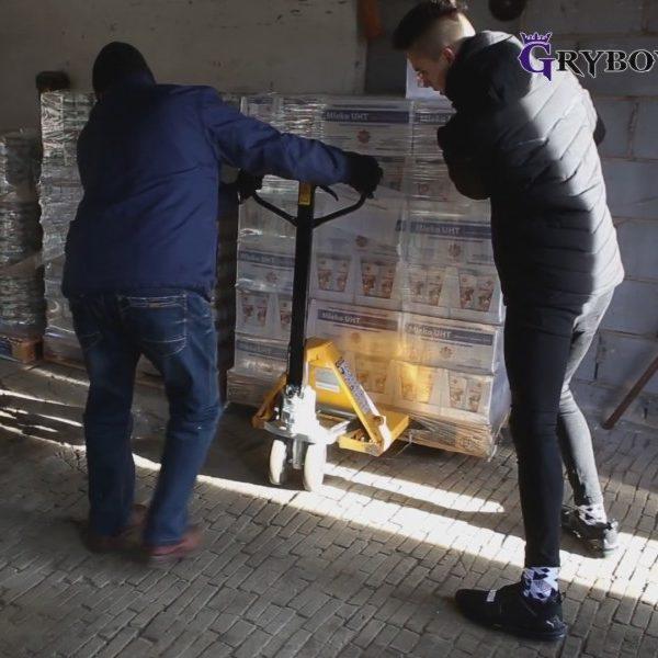 Grybow24.pl: 11 ton pomocy żywnościowej dla mieszkańców Grybowa