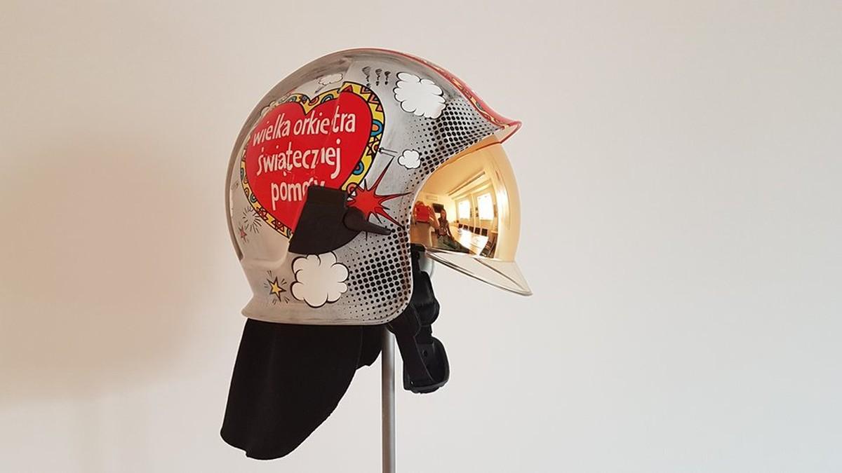 Aukcja WOŚP: Unikatowy hełm strażacki