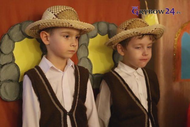 2017-12-15: Jasełka w wykonaniu grybowskich przedszkolaków