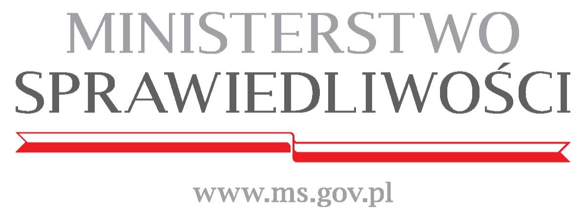 Logo: Ministerstwo Sprawiedliwości