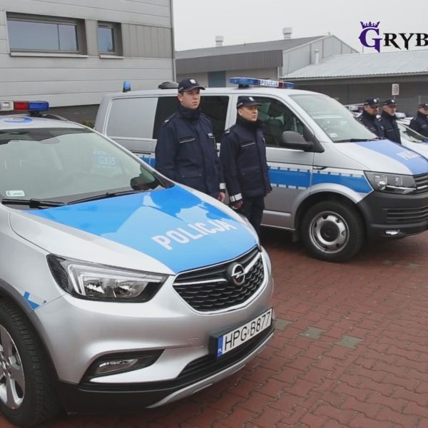 2018-01-11: Nowy radiowóz Opel Mokka trafił do Komisariatu w Grybowie