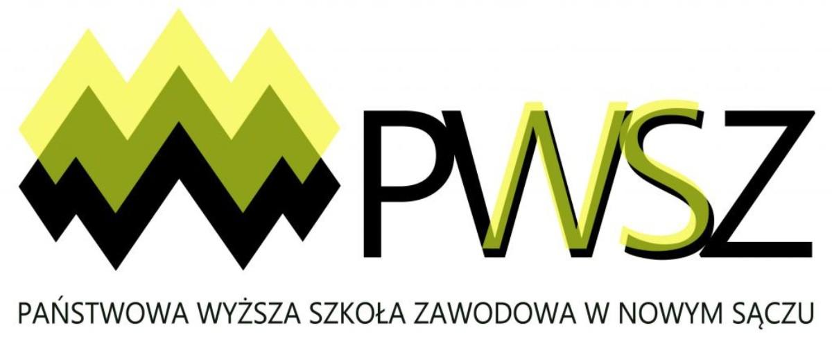 Logo: PWSZ Nowy Sącz