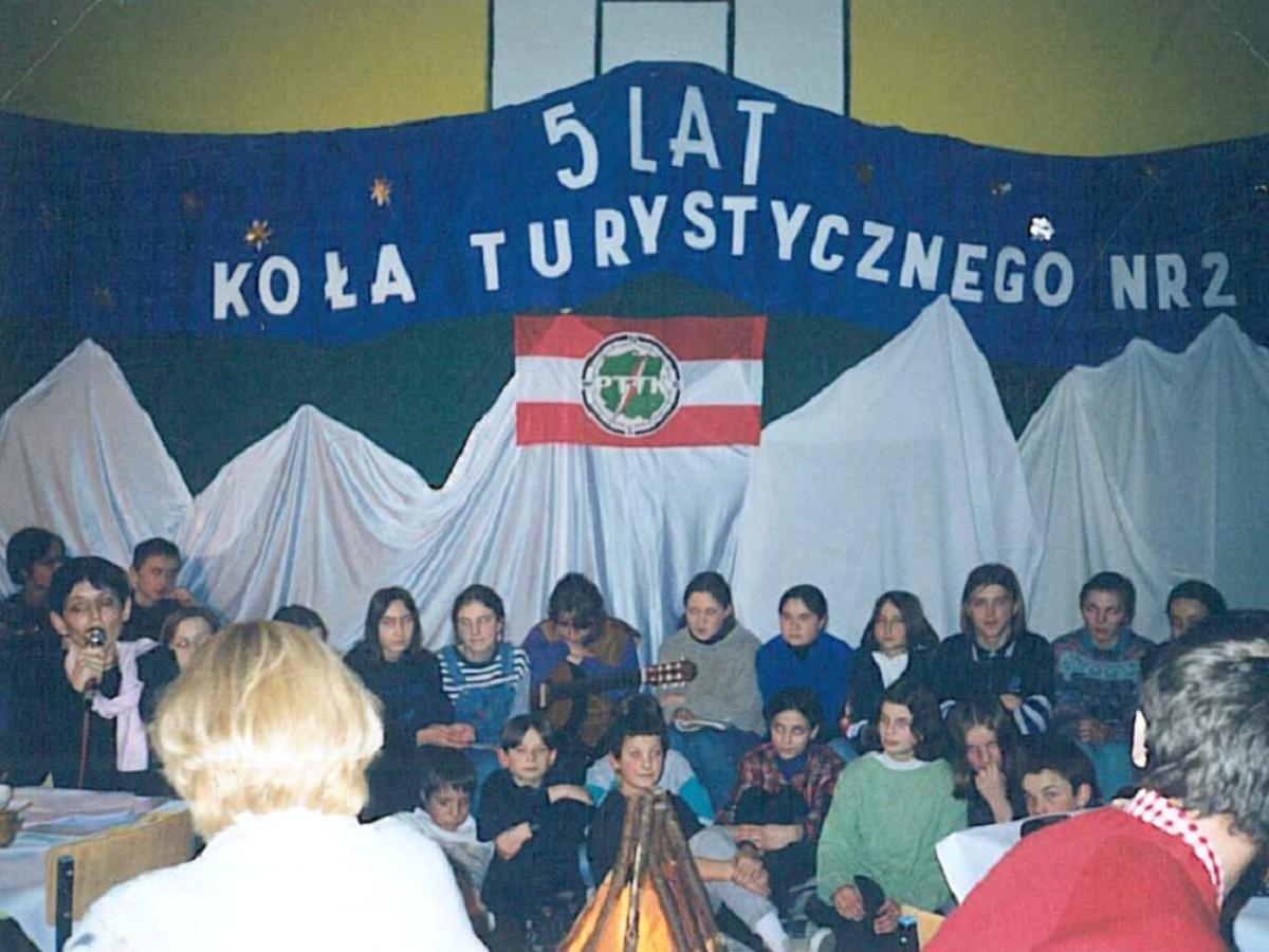 Jubileusze Koła PTTK Nr2 wGrybowie: 5-lecie (1997 rok)