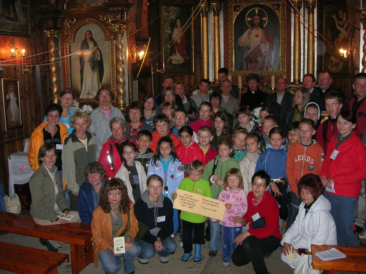 Jubileusze Koła PTTK Nr2 wGrybowie: 15-lecie (2007 rok)