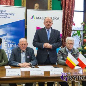 2018-01-12: MPGK rozbuduje oczyszczalnię ścieków dla miasta Grybowa