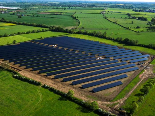 Willersey Solar Farm in Gloucestershire