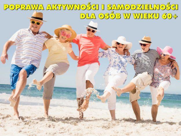"""Projekt """"Poprawa aktywności i samodzielności dla osób w wieku 60+"""""""